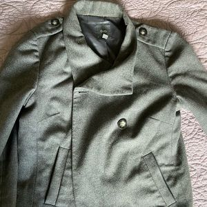 Gap military style coat